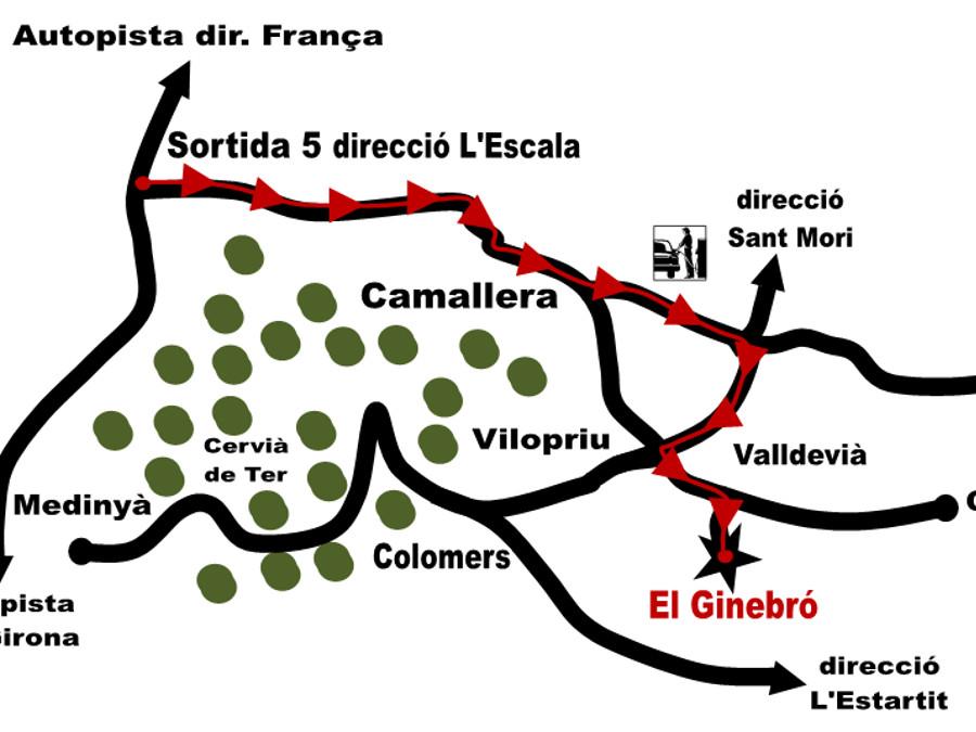 Casa de Colònies el Ginebró. Vilopriu