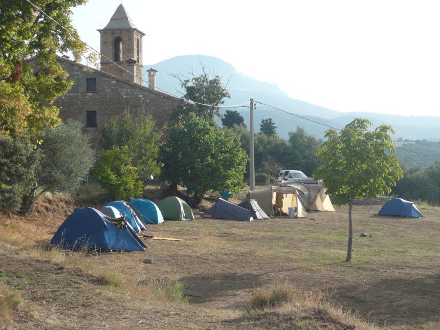 Montpol - Terreny d'Acampada