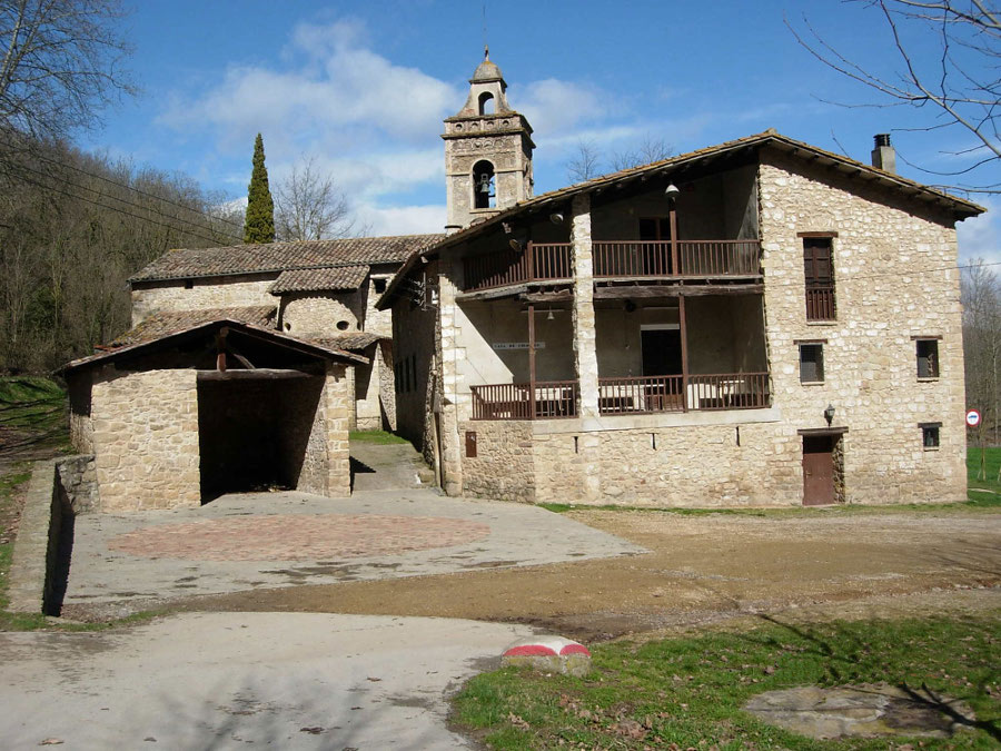 Antiga Rectoria Puigpardines, Puigpardines (La Garrotxa)
