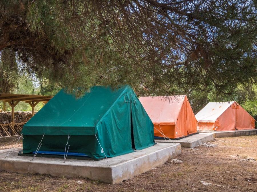 Campament de Biniparratx